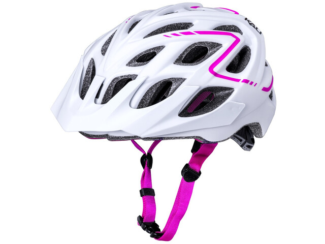 Kali Chakra Plus Helm matt weiss/pink
